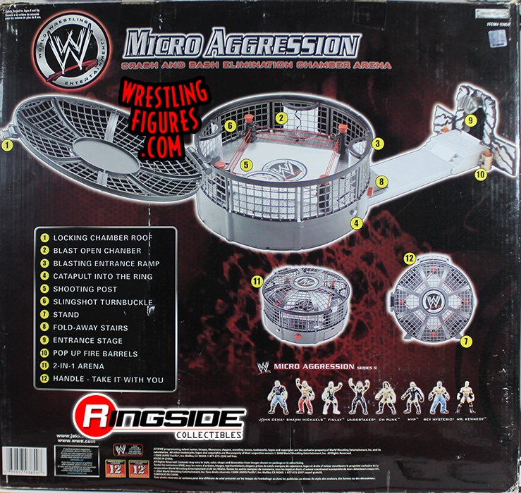 Wwe Micro Aggression Crash And Bash Elimination Chamber