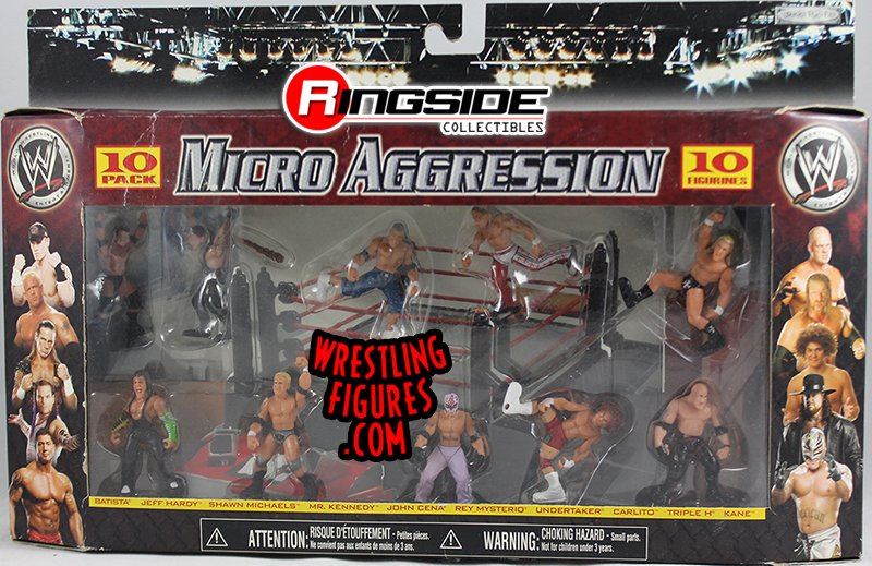 Wwe Micro Aggression 10 Pack Ringside Collectibles
