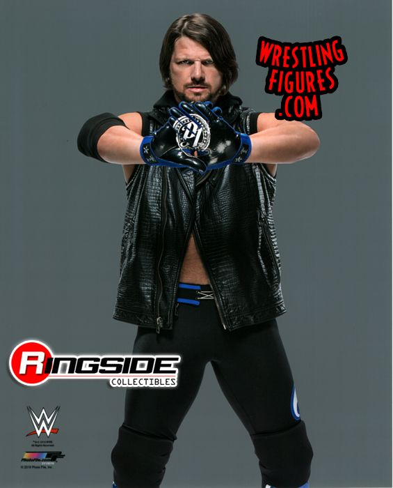 Aj Styles Wwe Wrestling 8x10 Color Photo