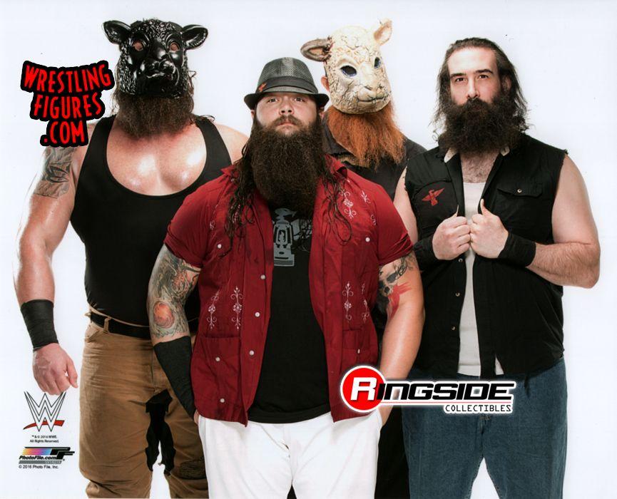 Wyatt Family Bray Wyatt Luke Harper Erick Rowan Amp Braun