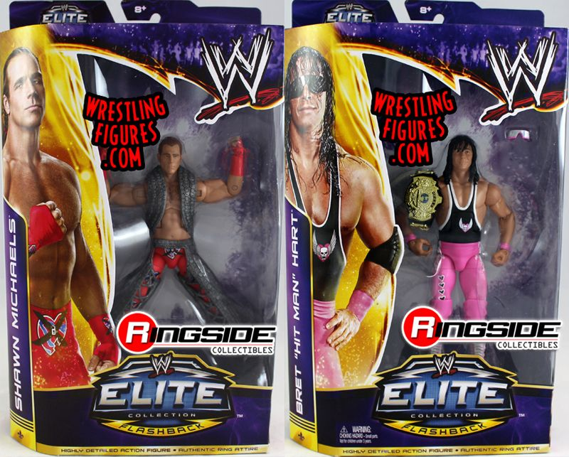 Wwe Elite Quot Wrestlemania 30 Quot Complete Set Of 2 Shawn