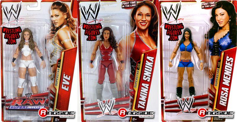Wwe Girl Toys : Package deal wwe divas eve torres series tamina