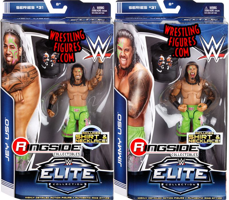 Package Deal Wwe Elite 31 Jimmy Amp Jey Uso
