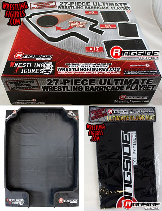 Package Deal Quot 27 Piece Ultimate Wrestling Barricade