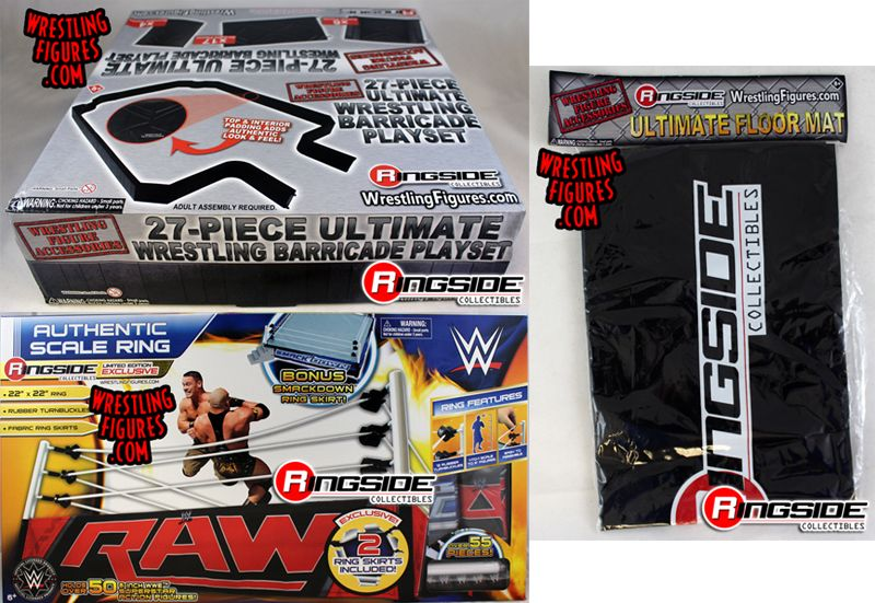 Package Deal Quot Wwe Authentic Scale Wrestling Ring Quot Quot 27