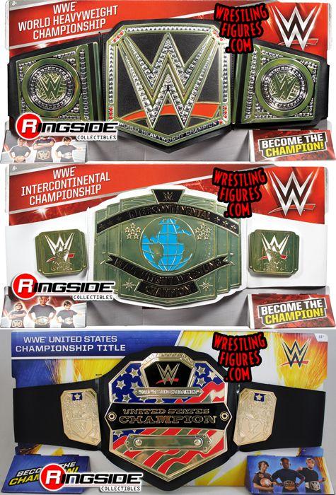 WWE World Heavyweight Wrestling Championship Title Belt TOY