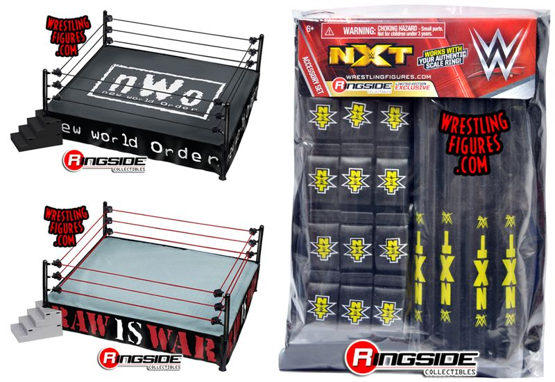 Package Deal Includes The Following Toy Wrestling Action