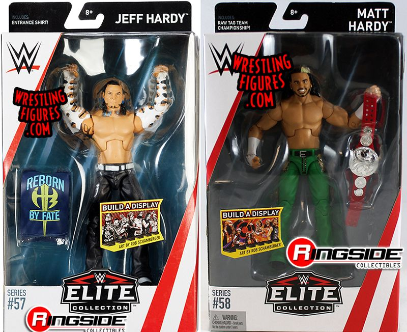 Hardy Boyz Package Deal Includes The Following Wwe Toy