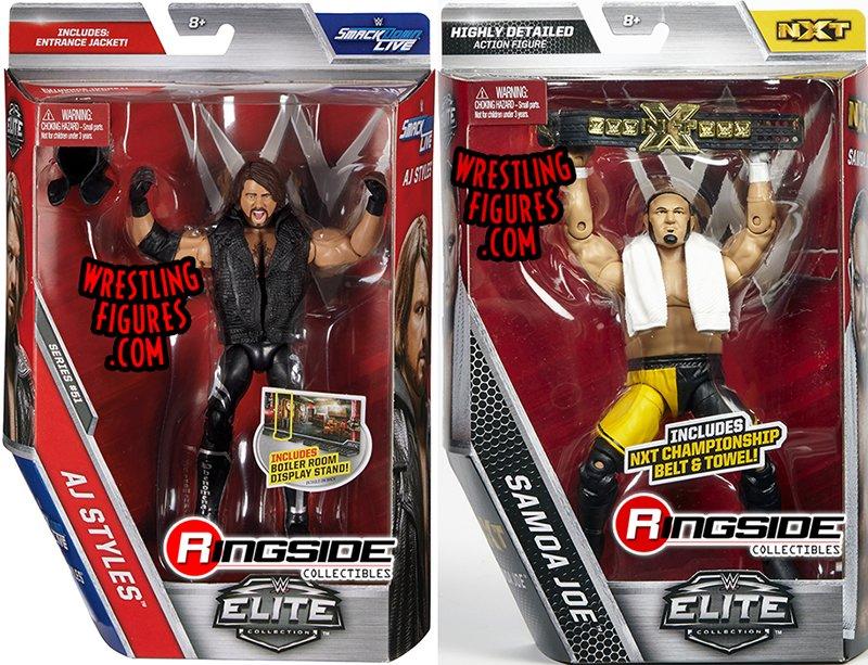 WWE Elite 51 Mattel Toy Wrestling Action Figure AJ Styles