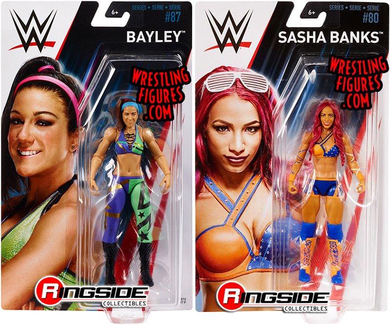 Mattel WWE Basic Series 80 Sasha Banks Action Figure