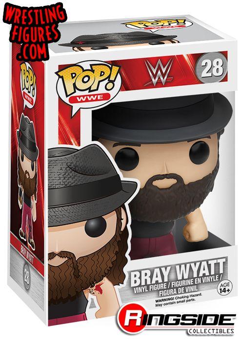 Bray Wyatt Pop Wwe Vinyl Ringside Collectibles