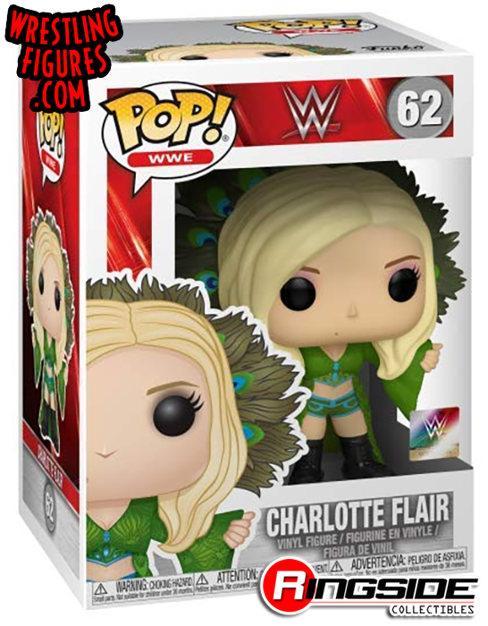 Charlotte Flair Blue Exclusive Pop Vinyl WWE