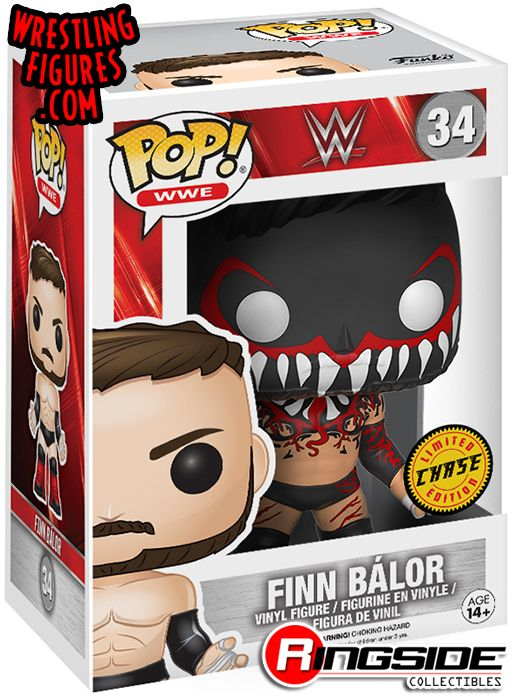 Chase Figure Demon Finn Balor Wwe Pop Vinyl Wwe Toy