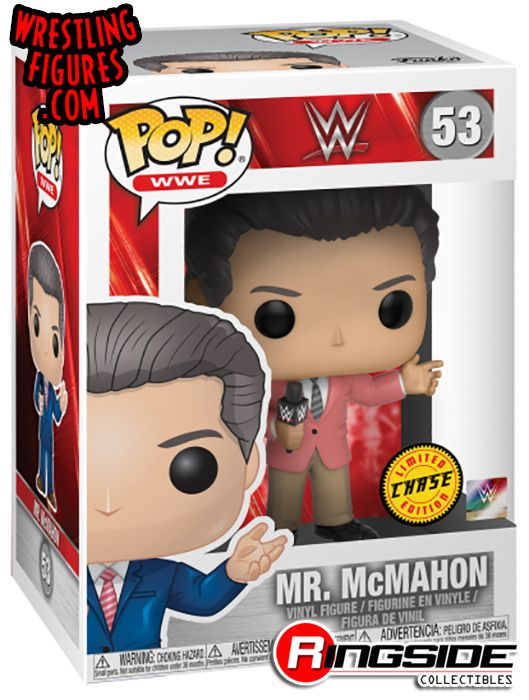 437c59738b8 (Limited Chase Figure) Vince McMahon (Mr. McMahon) - WWE Pop Vinyl. WWE Toy  Wrestling Action Figure