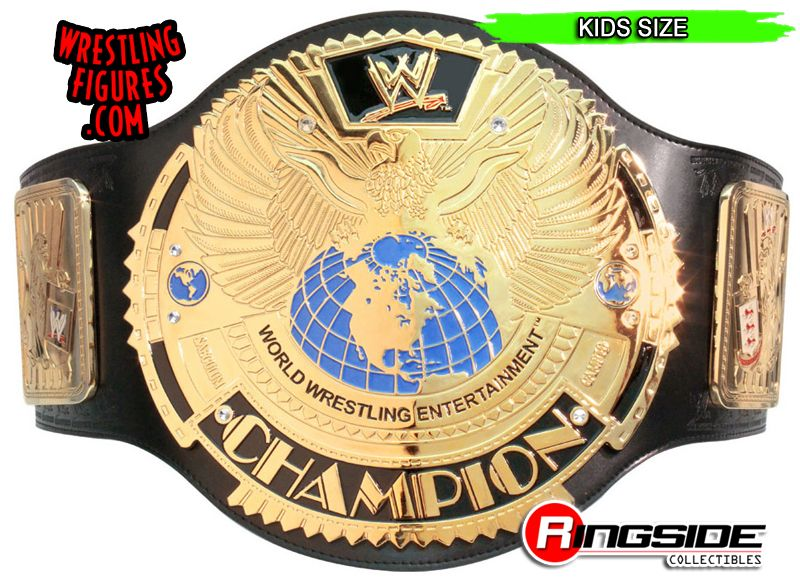 WWE Kids Championship Wrestling Belt