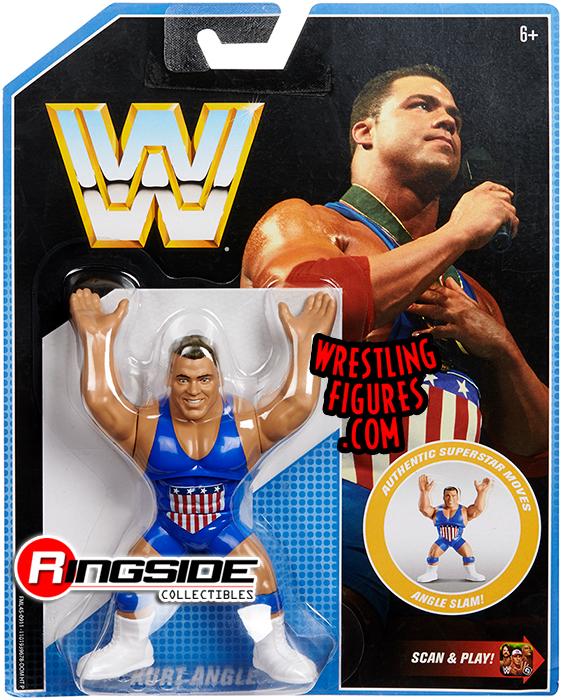 WWE Kurt Angle Retro App Series 7 Wrestling Action Figure