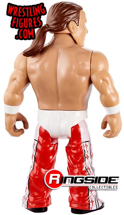WWE Shawn Michaels Retrò app MATTEL Series 7 Action Figure Wrestling