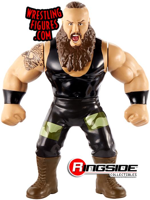 WWE ALL 4 COMPLETE RETRO APP MATTEL SERIES 8 WRESTLING ACTION FIGURE BASIC NXT