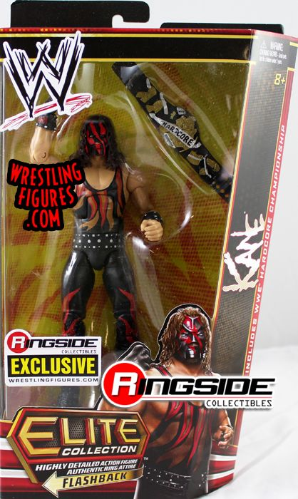 Quot Hardcore Kane Quot Ringside Collectibles Exclusive Wwe Toy