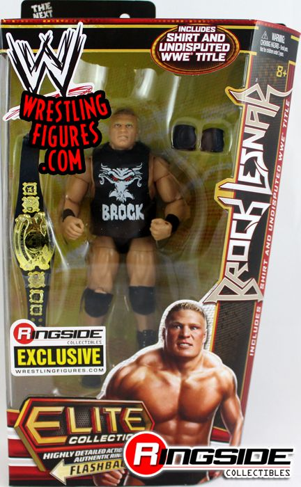 Brock Lesnar Mattel WWE Ringside Collectibles Here Comes the Pain Exclusive!