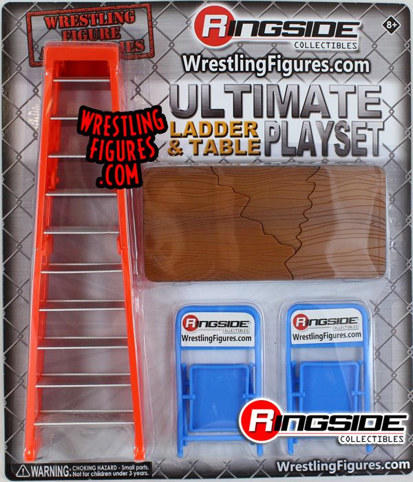 Quot Ultimate Ladder Amp Table Playset Orange Quot Ringside