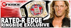 Mattel WWE Rated R Edge Ringside Collectibles Exclusive!