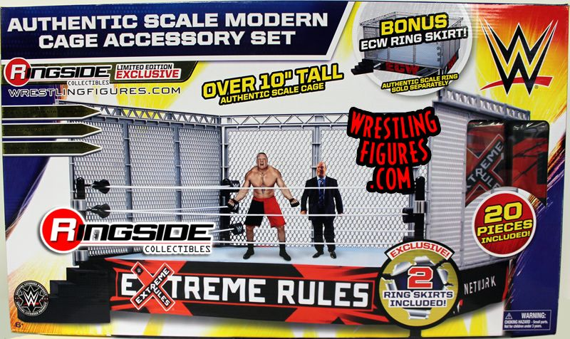 Quot Wwe Modern Day Steel Cage Playset Quot W Ecw Amp Extreme Rules