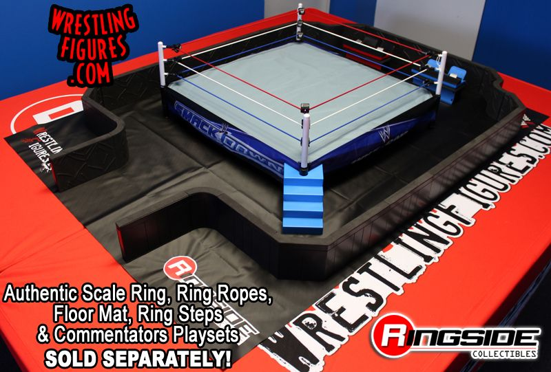 27-Piece Ultimate Wrestling Barricade Playset - Ringside
