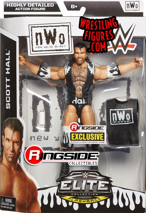 Quot Nwo Scott Hall Quot Ringside Exclusive Wwe Toy Wrestling