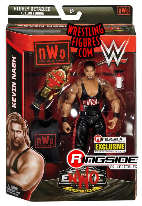 Quot Nwo Wolfpac Kevin Nash Quot Ringside Collectibles Exclusive