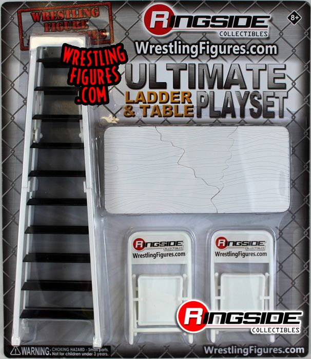 Black Ultimate Table Ringside Exclusive Toy Wrestling Figure Accessories