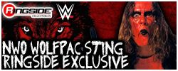 Mattel WWE Sting (NWO Wolfpac) - Ringside Exclusive!