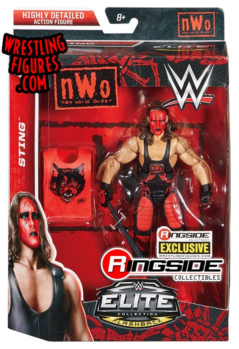 Quot Sting Nwo Wolfpac Quot Ringside Collectibles Exclusive