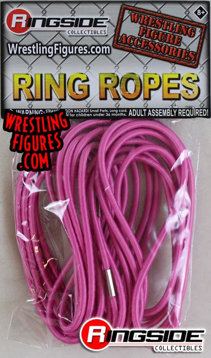 Ring Ropes Pink Ringside Collectibles Exclusive