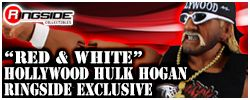 Red & White Hollywood Hogan Exclusive!