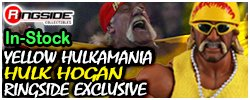 Storm Collectibles Yellow Hulkamania - Ringside Exclusive!
