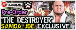 Mattel WWE The Destroyer Samoa Joe - WWE Exclusive!