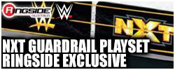 NXT Guardrail Playset Ringside Exclusive!