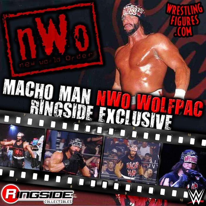 Macho Man Randy Savage Nwo Wolfpac Ringside