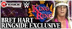 Mattel WWE King of the Ring Bret Hart!