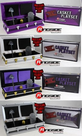 """White /""""Casket Playset /"""" Ringside Exclusive"""