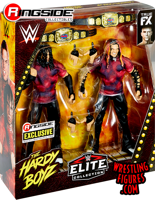 WWE Elite 2-Pack Ringside Exclusive Brood Hardy Boyz