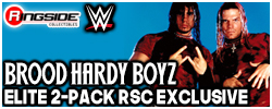 Mattel WWE Brood Hardy Boyz - Ringside Exclusive!
