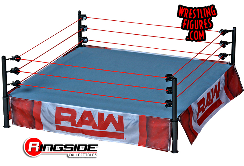 WWE Mattel Real Scale Ring AEW Ring Skirts WW Shipping