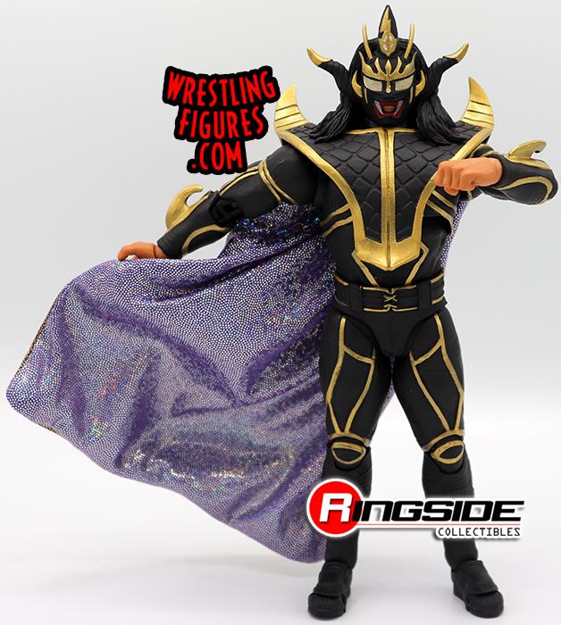 "NJPW Storm Collectables Jyushin /""Thunder/"" Liger Black Ringside Exclusive Figure"