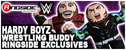 Hardy Boyz Jakks WWE Wrestling Buddies!