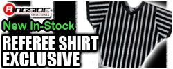 Referee Fabric Shirt - Ringside Exclusive!