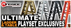 Ultimate Ladder & Table Playsets - Ringside Exclusive!