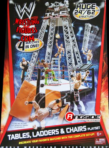 Wwe tables ladder amp chairs playset ringside collectibles