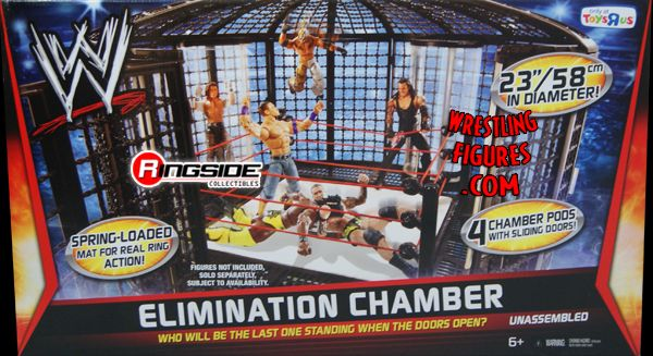 Old Wwe Elimination Chamber Playset Ringside Collectibles